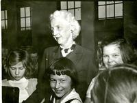 1949 Priscilla Kinsman With Students