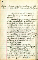 AS Board Minutes - 1924 July