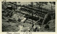 Lower Baker River dam construction 1925-06-25 Power House
