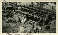 Lower Baker River dam construction 1925-06-25 Power House