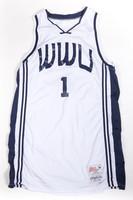 Basketball (Men's) Jersey: #1, Grant Dykstra, undated