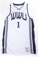 Basketball (Men's) Jersey: #1, Grant Dykstra, undated