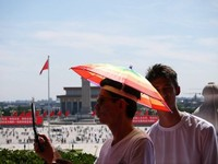 Umbrella Man - China