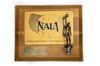 Basketball (Men's) Plaque: NAIA District 1 Champions, 1972