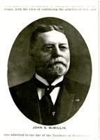 Studio portrait of John. S. McMillin