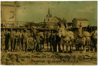 Breaking Ground for Elks Home June 10 1912