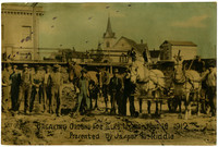 Breaking Ground for Elks Home June 10 1912