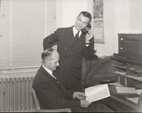 1943 Coaches Carver and Lappenbusch
