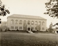 1936 Library: North Facade