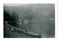 Steamer Marguerite at Hildebrand's, Lake Whatcom, Washington