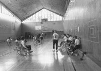 1982 Students Playing Basketball