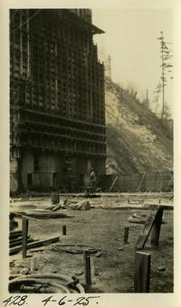 Lower Baker River dam construction 1925-04-06