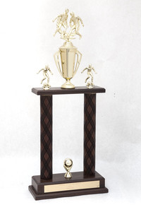 Soccer (Men's) Trophy: Redwood tournament champions (front), 1989