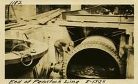 Lower Baker River dam construction 1925-08-15 End of Penstock Line