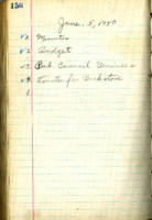 AS Board Minutes 1940-06