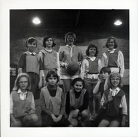 1965 Girls Basketball Team
