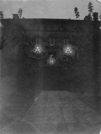 1915 Main Building at Night