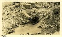 Lower Baker River dam construction 1924-09-12 Foundation preparation