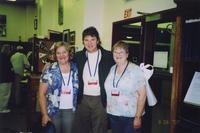 2007 Reunion--Anita (Vosti) Johnson, John Vosti and Jana (Vosti) Evans in Special Collections