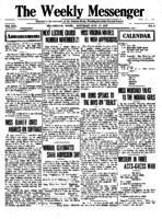 Weekly Messenger - 1917 November 17