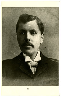 Portrait of unidentified young man