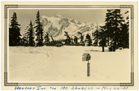 Heather Inn and Mt. Shuksan