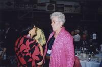2007 Reunion--Bobbie Bouverat and Eloise Stendal at the Banquet