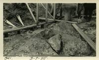 Lower Baker River dam construction 1925-03-07