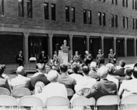 1968 Bond Hall: Dedication