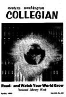 Western Washington Collegian - 1962 April 6