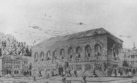 1928 Library: Architect's Drawing