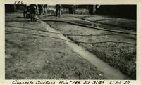 Lower Baker River dam construction 1925-06-25 Concrete Surface Run #144 El.3145