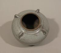 Sawankhalok ware jar, globular body with four loop handles at shoulders