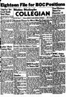 Western Washington Collegian - 1953 November 6