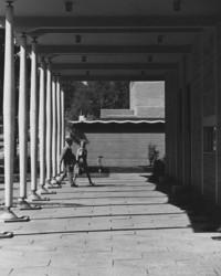 1960 Students at Viking Union Entrance