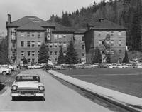 1960 Main Building: from South