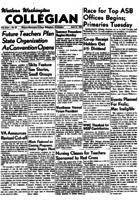 Western Washington Collegian - 1951 April 27