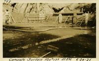 Lower Baker River dam construction 1925-06-20 Concrete Surface Run #139 El.292