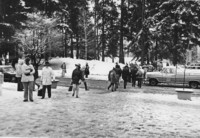 1971 Students in Snow