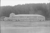 1943 Campus School Building Southwest Facade