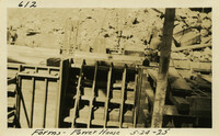 Lower Baker River dam construction 1925-05-24 Forms Power House