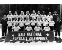 1998 Softball Team