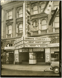 The American Theater on Cornwall Avenue, Bellingham, Washington