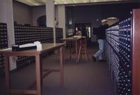 1996 Students at the Card Catalog