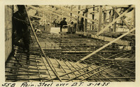 Lower Baker River dam construction 1925-05-14 Reinf Steel over D.T.