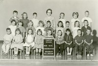 1963 Kindergarten Class with Synva Nicol