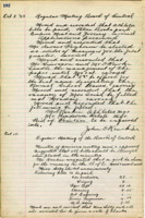 AS Board Minutes - 1923 October