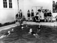 Swimming class at the YWCA