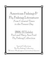 American fishing & fly fishing literature