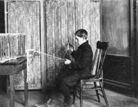 1909 Making A Fishing Net